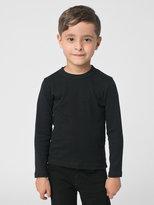 American Apparel Kids' Baby Rib Long Sleeve T-Shirt