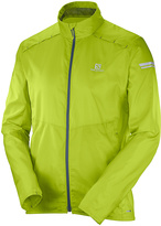 Salomon Lime Green Agile Jacket - Men