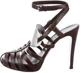 Hermes Leather Multistrap Sandals