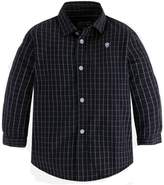 Mayoral Boys Graphite-Striped Shirt