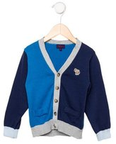 Paul Smith Boys' Colorblock Cardigan