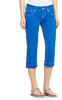 Miss Me Cross-Pocket Capri Jeans