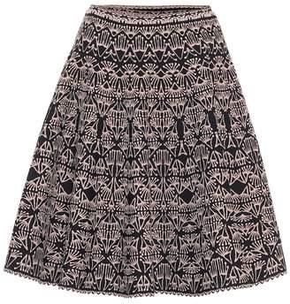 Alaia Jacquard miniskirt
