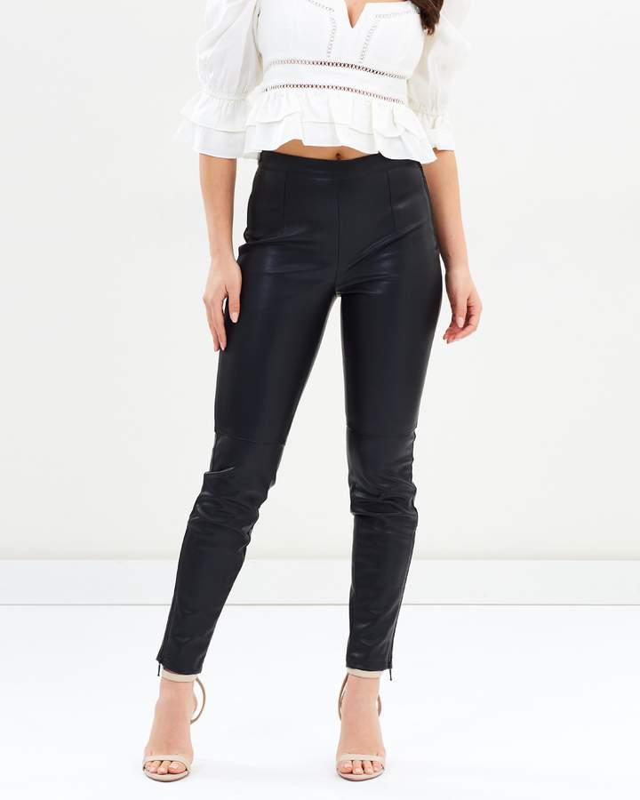 Bardot Tailored PU Pants