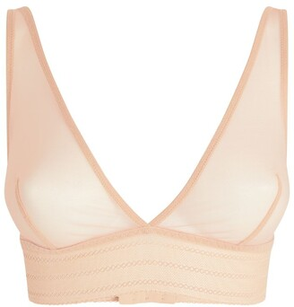 ELSE Sheer Bare Triangle Bra