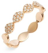 Women's Bony Levy 'Marquee' Diamond Stacking Ring (Nordstrom Exclusive)