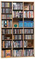 Atlantic 756-CD or 360-DVD or-Blu-Ray or Games Oskar Media Cabinet in Maple