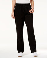 Karen Scott Drawstring Lounge Pants, Only at Macy's