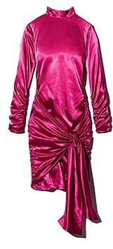 LIKELY Khaleesi Ruched Tie Detail Mini Dress