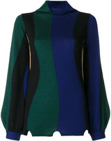 Pierantonio Gaspari Pierantoniogaspari striped roll neck jumper