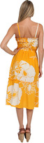 Nieves Lavi Yellow and White Floral Dress in Sunshine