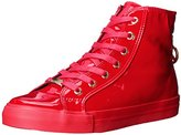 Love Moschino Women's Patent High-Top Fashion Sneaker