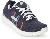 Fila Navy & White Namella Energized Memory Foam Sneakers