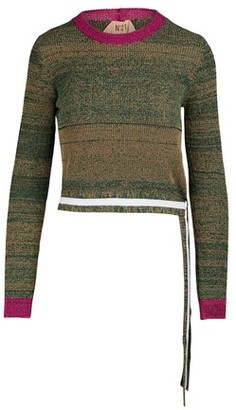 N°21 Colorblock sweater