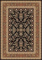 "Safavieh Lyndhurst Collection LNH331D Black and Tan Area Rug, 5 feet 3 inches by 7 feet 6 inches (5'3"" x 7'6"")"