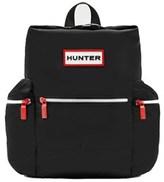 Hunter Women's Black Fabric Backpack.