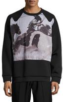 3.1 Phillip Lim Western Printed Crewneck Sweatshirt