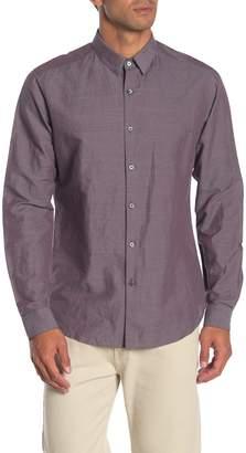 Theory Zack Essential Linen Blend Shirt