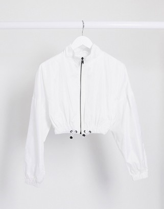 Sixth June relaxed cropped bomber jacket co-ord