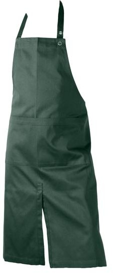The Organic Company - Apron With Pocket And Slit - Dark Blue