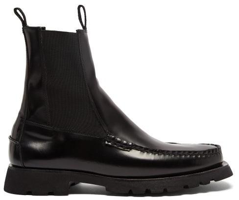 Hereu Alda Sport Leather Boots - Black