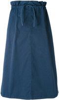 MM6 MAISON MARGIELA midi full skirt - women - Cotton/Spandex/Elastane - 38