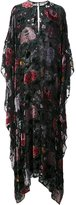 ADAM by Adam Lippes floral burnout velvet kaftan gown - women - Viscose - XS