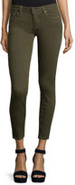 Paige Verdugo Skinny Ankle Jeans, Deep Olive