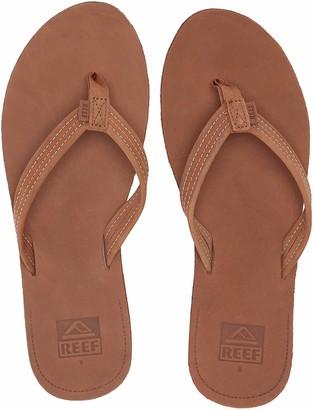 Reef Women's Sandals Voyage Lite Leather  Women's Leather Flip Flops