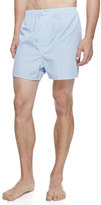 Derek Rose James Fine-Stripe Boxer Shorts