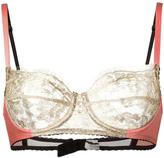 Gilda & Pearl - 'Gina' balconette bra - women - Silk/Nylon/Polyethylene/Rayon - 30D