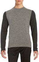 Black Brown 1826 Colorblocked Sweater