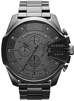 Diesel Gunmetal Plated Stainless Steel Chronograph Bracelet Watch