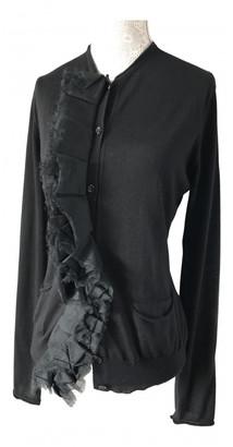 Saint Laurent Black Cashmere Knitwear