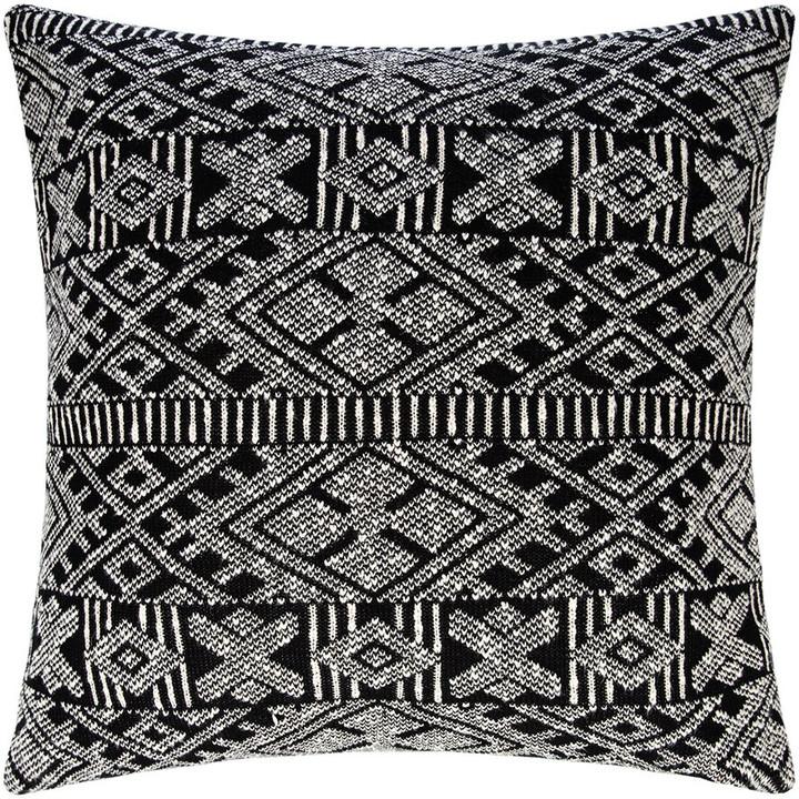 Global Explorer - Aztec Knit Floor Cushion - 80x80cm