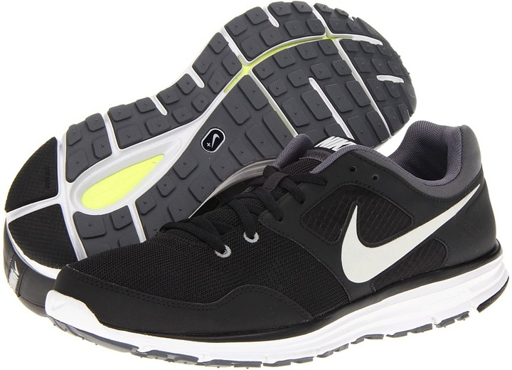 Nike LunarFly+ 4 (Black/Dark Grey/Pure Platinum/Reflective Silver) - Footwear