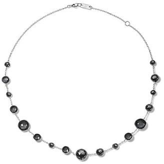 Ippolita Lollipop Short Lollitini Sterling Silver & Hematite Necklace
