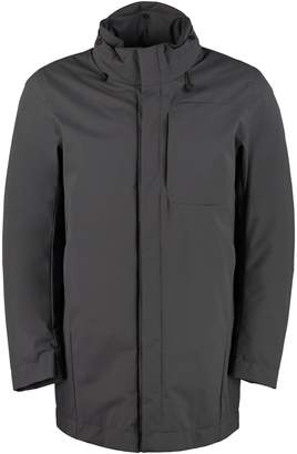ADD Technical Fabric Parka With Internal Down Jacket