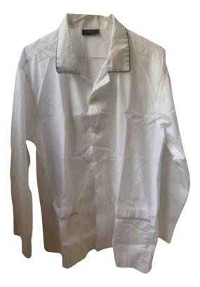 Ermenegildo Zegna White Cotton Textiles
