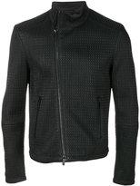 Emporio Armani textured jacket