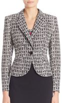 Escada Graphic Cotton Jacket