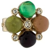 Chanel Gripoix Crystal Ring