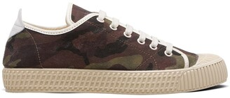 Car Shoe Camouflage Print Sneakers