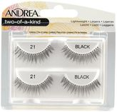 Andrea Twin Pack Lashes Black Two of a Kind #21