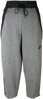 Nike cropped track pants - women - Cotton/Polyester/Nylon - XS