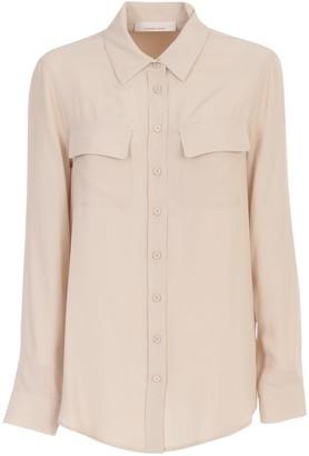 Liviana Conti Plain Shirt W/pockets
