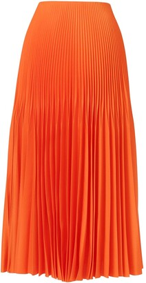 Jason Wu Collection Long Pleated Skirt