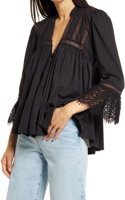 Free People Esme Button-Up Top