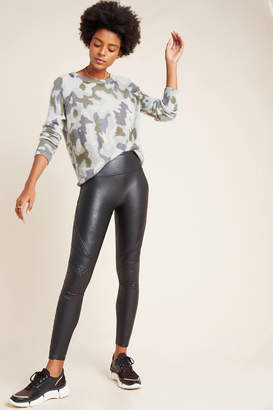 Spanx Quilted Faux Leather Leggings