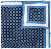 Gucci geometric print pocket square - men - Silk - One Size